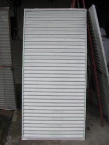 仙台市青葉区K様邸の雨戸塗装(施工後)