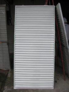 仙台市青葉区K様邸の雨戸塗装(施工前)