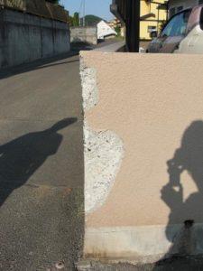 仙台市青葉区O邸様外塀補修塗装(施工前)